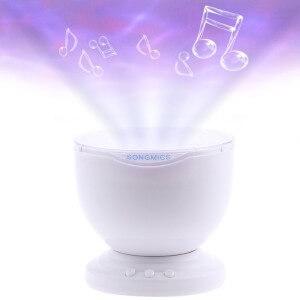 Songmics Ozean-Projektor mit integriertem Lautsprecher
