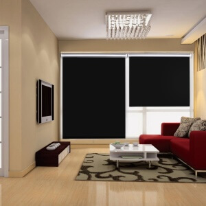 mit einem lichtundurchl ssigen vorhang oder einer jalousie kann man. Black Bedroom Furniture Sets. Home Design Ideas